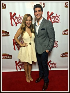"""Adam Kaplan and the cast spend time promoting """"Kinky Boots"""" -- on a red carpet, of course."""