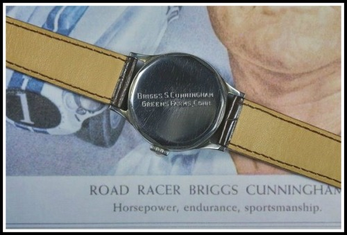 Briggs Cunningham's least expensive watch.