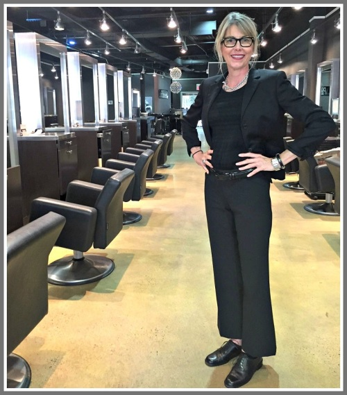 Cohl Katz, in her new Vincent Palumbo Salon digs.