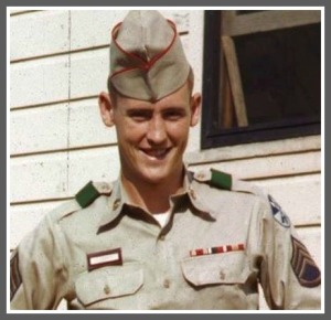 Elliott Netherton, in his military days.