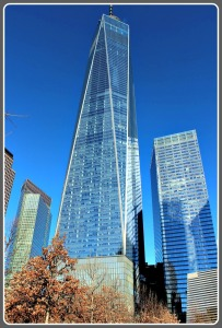 "1 World Trade Center (""Freedom Tower""): the tallest skyscraper in the Western Hemisphere, 4th tallest in the world."