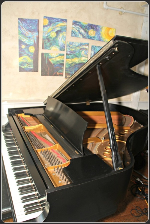 Steinway's classic piano, in its new 323 home.