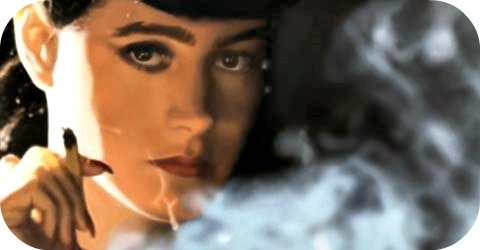 "Sean Young in ""Blade Runner."""
