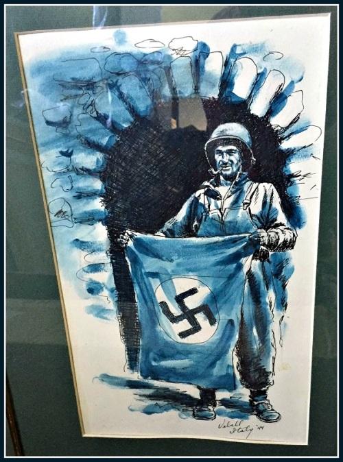 Ed drew this in 1944.