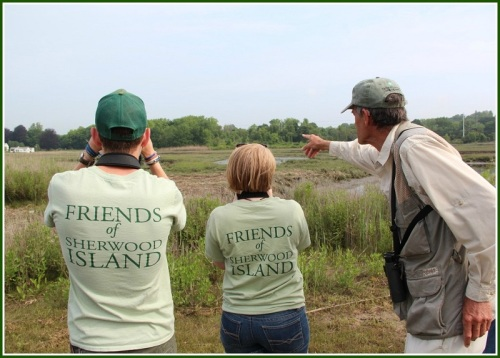 Friends of Sherwood Island sponsored this weekend's Trails Day.