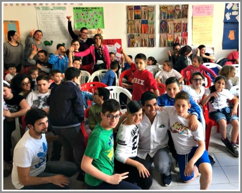 In April, Jaime Bairaktaris volunteered for 2 weeks at a center for impoverished youth in Naples, Italy. Like the teachers he admires, he is already giving back to the next generation.