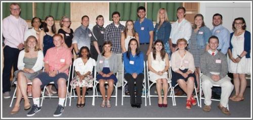 The Susan Fund 2015 scholarship recipients.