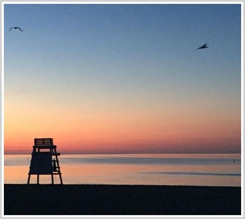 Sunrise at the beach. (Photo/Dayle Brownstein)