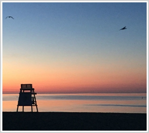 Sunrise at the beach. (Photo/Dayle Brownstein)