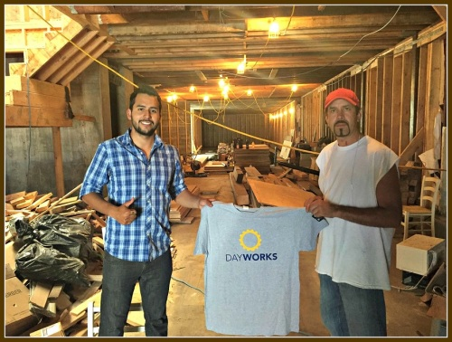 Builders and laborers connect through Dayworks.