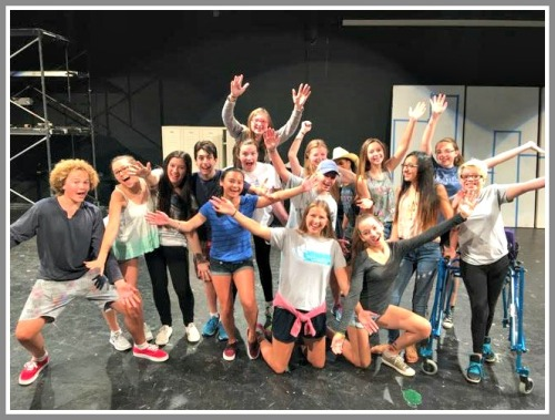"""The """"Footloose"""" cast."""