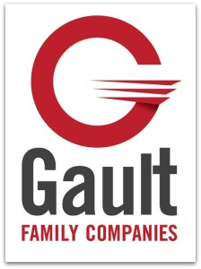Gault's new logo (and name).
