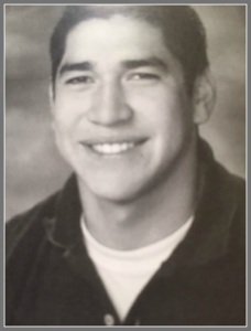 Jonathon Aledda, in the Staples High School Class of 2004 yearbook.