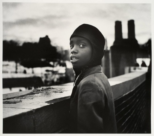 """Boy on Rooftop,"" 1951"