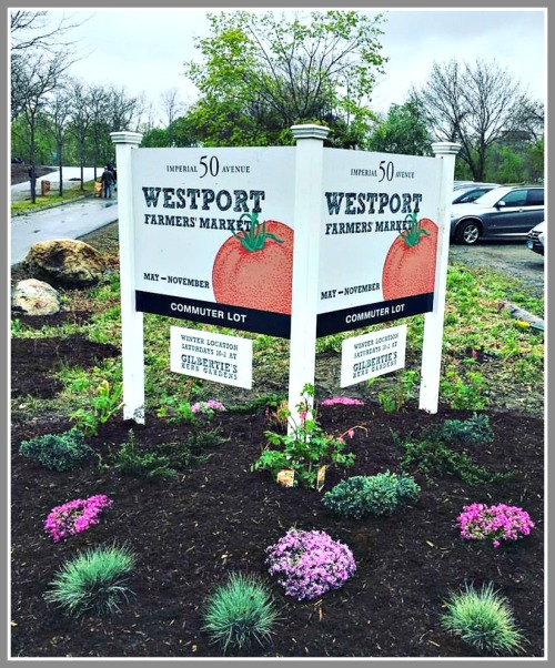 The Westport Farmers' Market is held every Thursday (10 a.m.-2 p.m.) at the Imperial Avenue commuter parking lot.