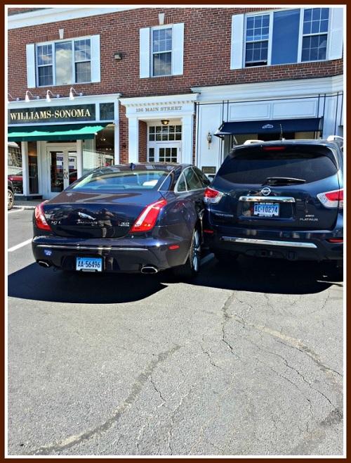 Brooks Corner parking - Sandy Rothenberg