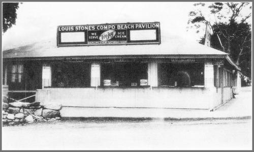 Compo Beach pavilion - concession - 1933