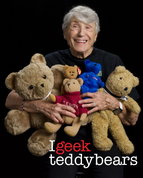 Geek - teddy bears