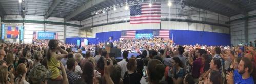 Hillary crowd - JP Vellotti