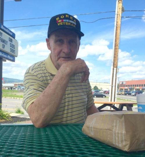 JP Vellotti's new friend, a Korean War veteran named Daniel.