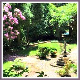 Part of the Turkey Hill garden.