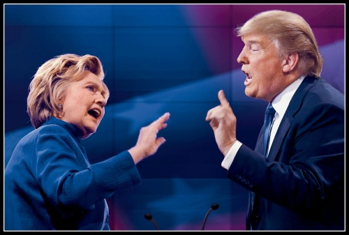 clinton-and-trump-debate