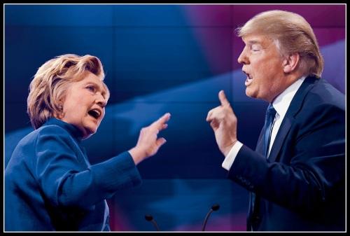 clinton-and-trump-debate