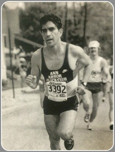 After graduating from Michigan, Elmo Morales continued to run.