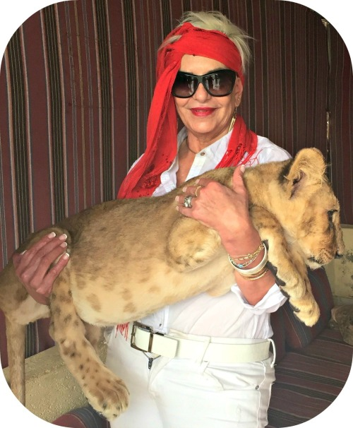 Gigi Sakr in her native Egypt, a year ago.