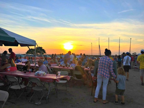 As the sun set on Lobster Fest, no one wanted to leave.