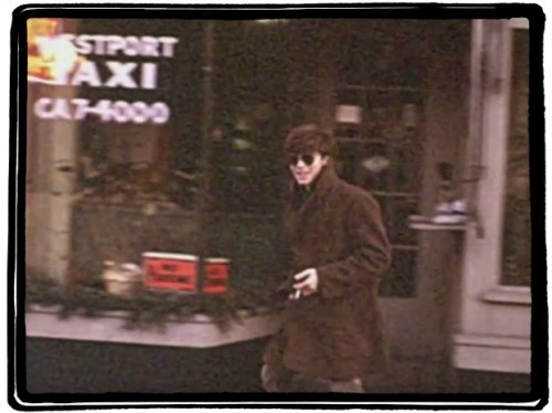 Walking downtown, by Westport Taxi. It was located a few doors down from what is now Tiffany.