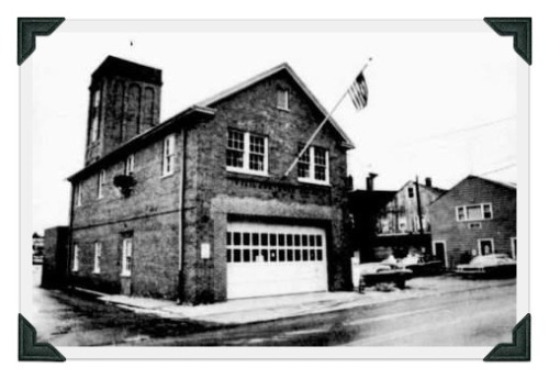 The Vigilant Firehouse on Wilton Road, circa 1977. It now houses the Neat coffeehouse and and wine bar.