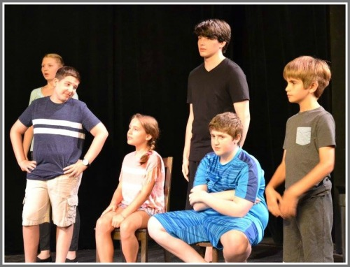 A Westport Community Theatre improv class, directed by Heather DeLude.