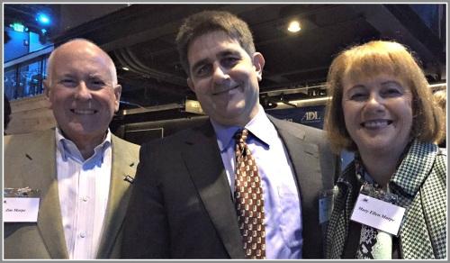 Jim Marpe, Keith Stein and Mary Ellen Marpe.