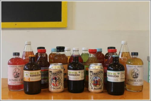 Some of Bar 'Bucha's selections. (Photo/Quincy Cuthbertson for Inklings)
