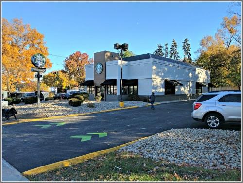 The new Starbucks...
