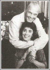 John Glenn and his goddaughter, Jo Ann Miller.