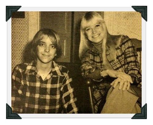 Ninth grader John Travers and his half-sister, Mary Travers.