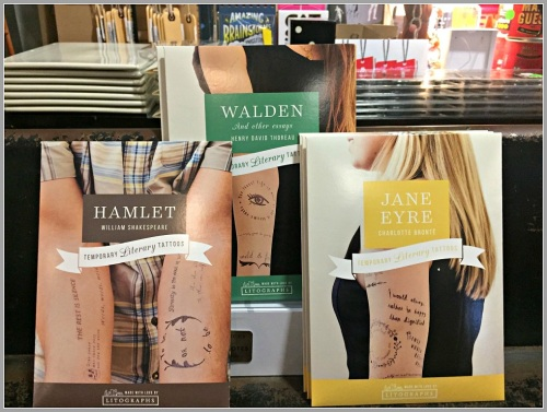 """Literary tattoos,"" created by a pair of Staples grad brothers..."