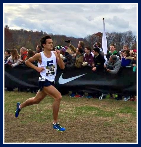Staples cross country captain and star runner Zak Ahmad wins another race.