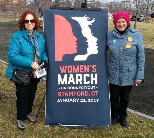 Also in Stamford: Audrey Rabinowitz and Bobbie Herman.
