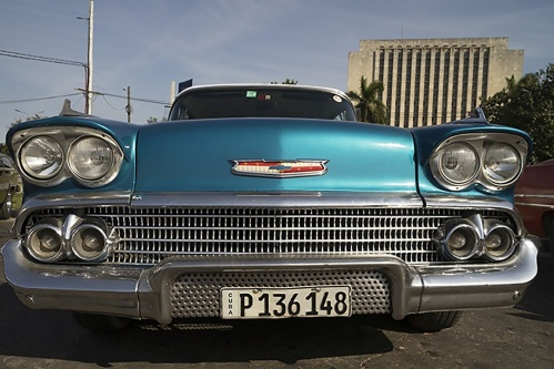 '58 Chevy in old Havana. (Photo copyright June Eichbaum)