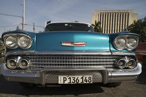 '58 Chevy in old Havana. (Photo copyright June Eichbaum)