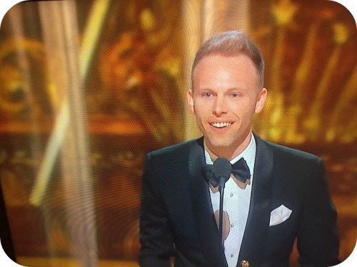 Justin Paul's Oscar acceptance speech.