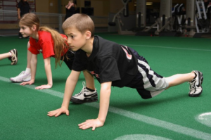 All kids -- like those in the file photo shown here -- enjoy the benefits of working out.