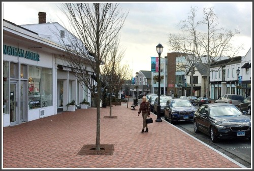 This AP photo of Main Street ran with many news stories about the