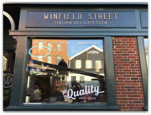 The Winfield Street Deli on Post Road West.