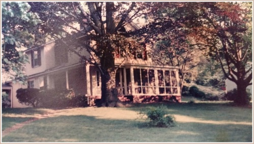 "Jonathan Walker grew up in this ""poor man's farmhouse,"" across South Compo Road from the larger Bennett house."