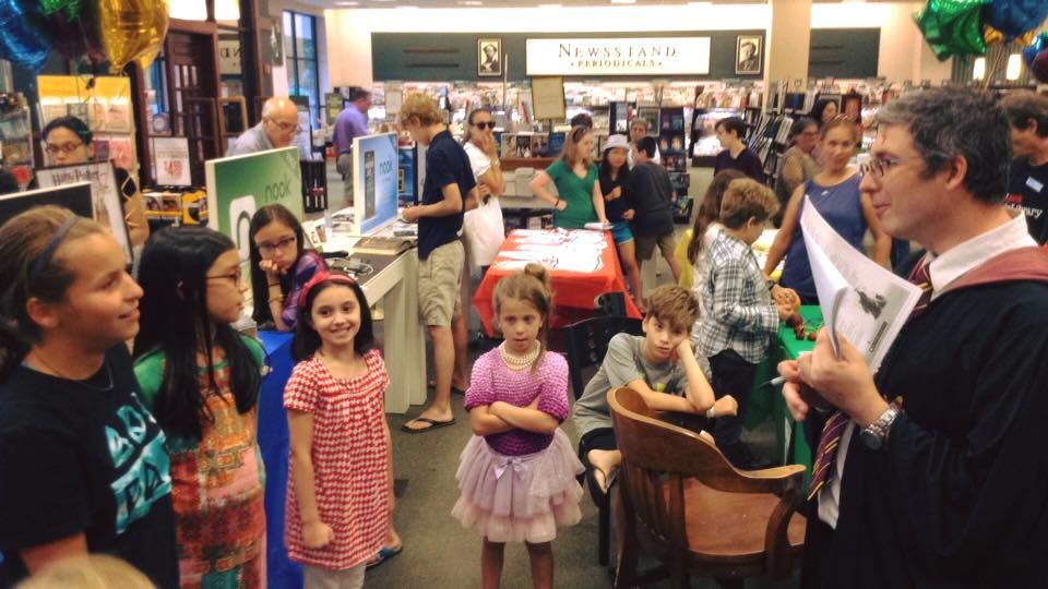 Barnes noble 06880 in 2016 youngsters enjoyed barnes nobles harry potter trivia event gumiabroncs Choice Image