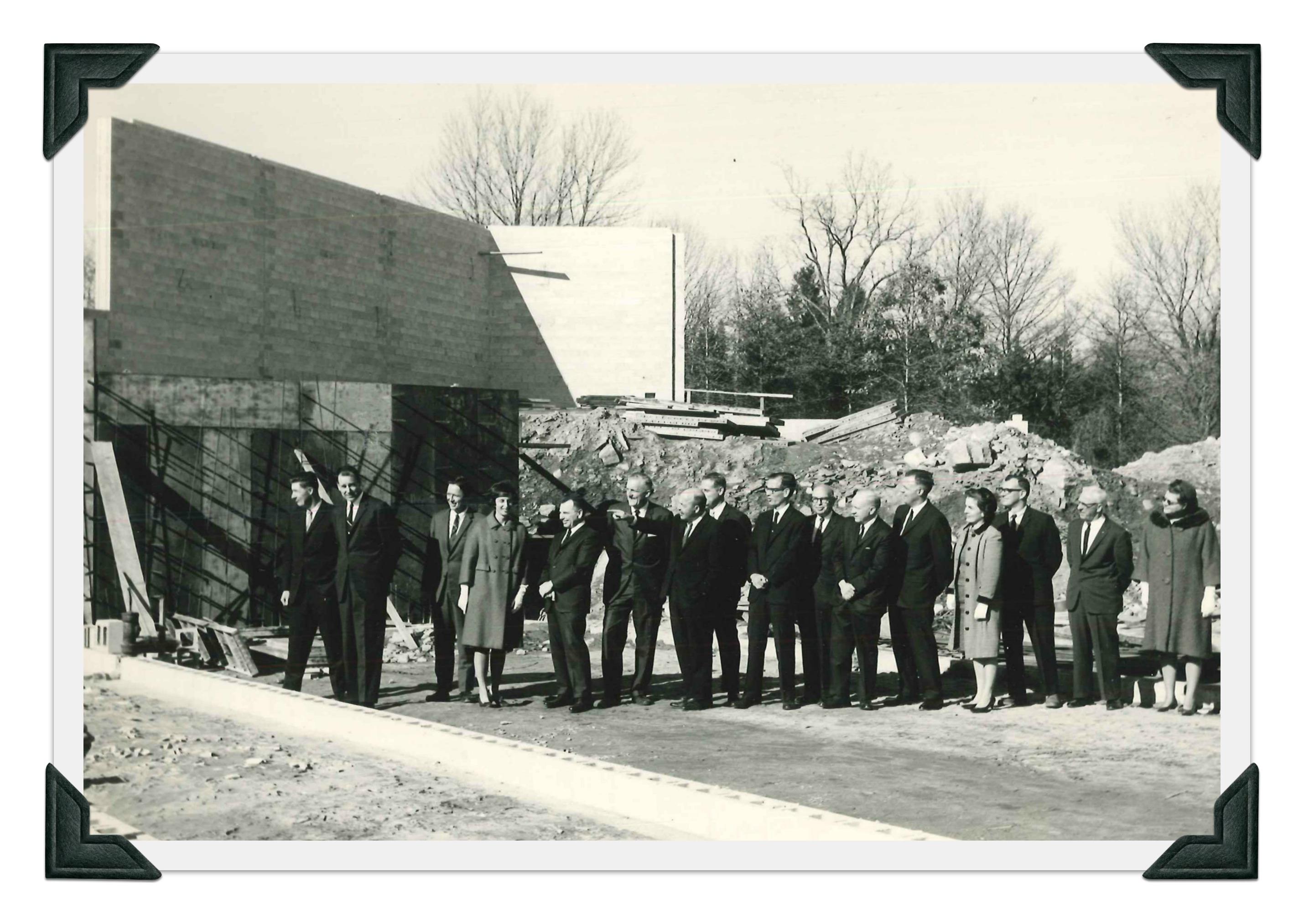 Methodist Church Unearths Its Cornerstone